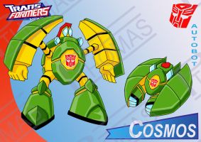 Transformers Animated Cosmos by PWThomas