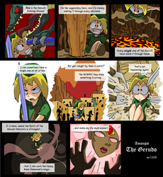 Amongst the Gerudo p1 by tran4of3