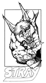 MFF17 - Stray Badge - Inks by Pegasus316