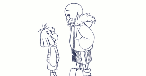 Undertale - Warm and Cuddly Skeletons by TC-96