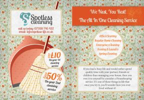Spotless Cleaning by 9Studios