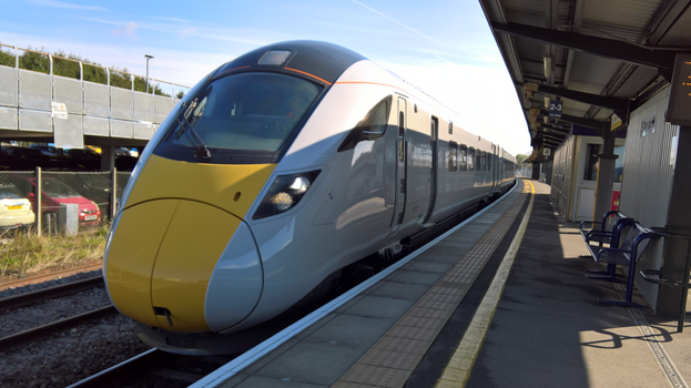 Class 800 at Bristol Parkway by thinskin45