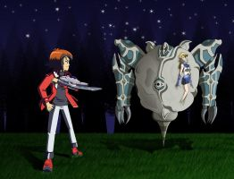Judai vs Relinquished by Anime-Captor