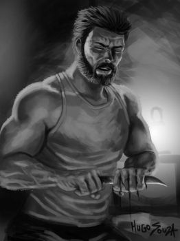 Logan Study by Hugo-Souza