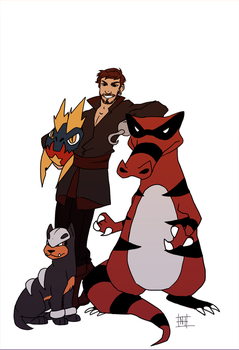 Hook's team by AtomicRedBoots