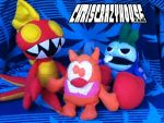 LAGOONY CRAB and the gang by chriscrazyhouse