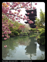 Toji Temple, Kyoto April 2012 by Fairytwister