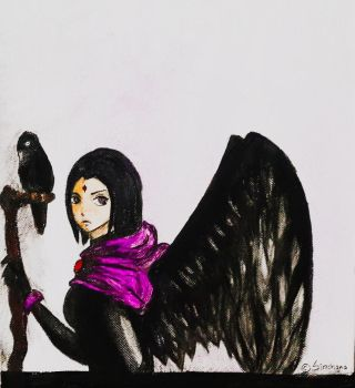 Raven by Sinchana-Amasawa