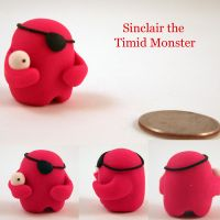 Timid Monster - Sinclair by trupinys