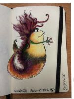 Hairy Frogfish  by ArtisanCreativeArts