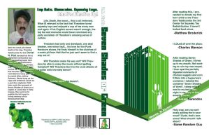 7 Shades Green book cover by dippydude