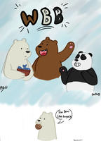 We Bare Bears!! by lugiamaster