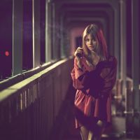 Red In The Dark.. by Khomenko