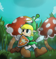 The Minish Cap by Pedrovin