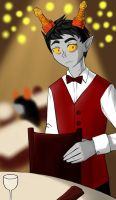 waiter troll by Do-omed-Moon