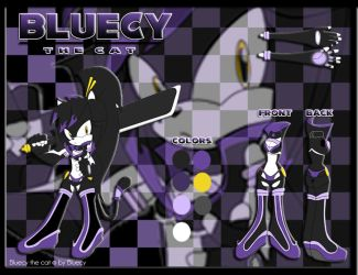 Bluecy the Cat Reference + Bio by Bluecy