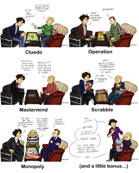 Sherlock-Board Games by SYangLau