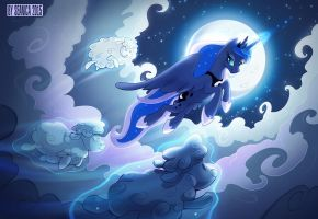Cloud Sheep is Best Pony by Seanica