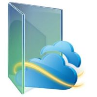 SkyDrive Green folder by kizo2703