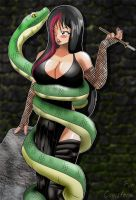 Gothica And Pet by Woo-Plays