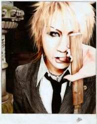 The GazettE: Ruki by Polly-is-a-good-girl