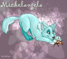 Michelangela The Pup Commish by TheTyro