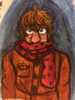 Scarf  by AnMachi