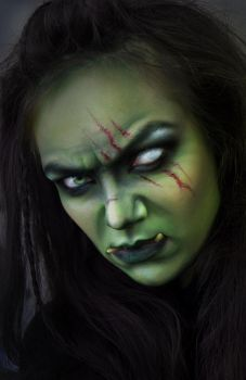Female Orc MakeUp by HydraEvil