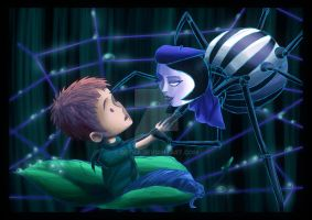 James and the Spider by Detra