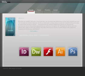 Webdesign 1 by toxiic49
