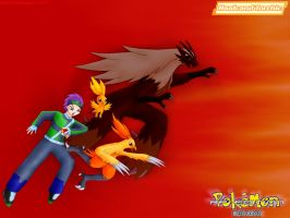 PokeMon RP:  Raab and Torchic.