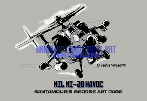 Mil Mi-28n Havoc by SANTAMOURIS1978