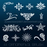 :: 44 Ornamental Brush :: by alwaheed2007