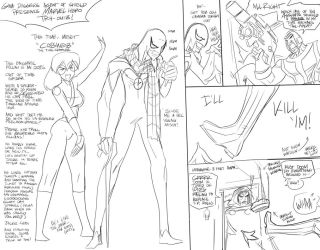 GDAOS MarvelTryOut 02 Cobweb by FredGDPerry