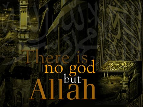 There is no god but God by azlah