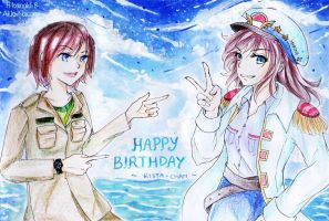 Collaboration Birthday Gift by H-Kanaki