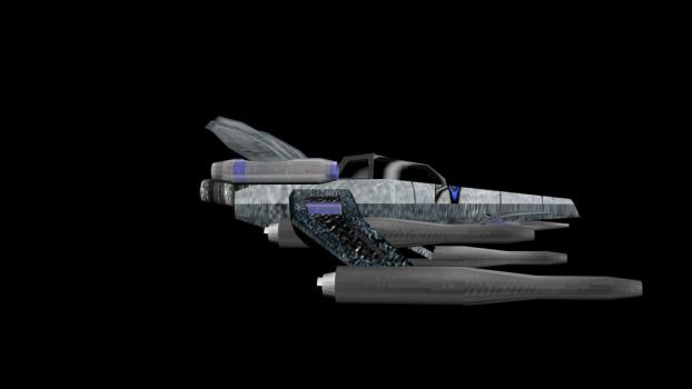 Project Ragnarok player ship- Icarus pt 3 by Sapphirewolf3057