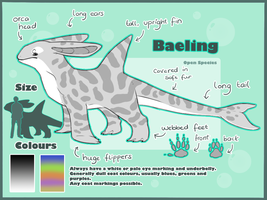 Baeling Species Ref OPEN SPECIES by AbwettarAdopt