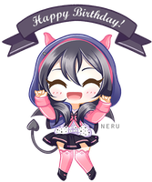 Happy Birthday from Nico by neru-van