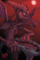 Ridley Hits the Big Time by Kenisu-of-Dragons