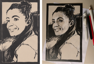 Mandip Gill for Inktober by greyfin