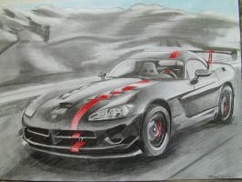 Dodge Viper Srt 10 by hnorby94