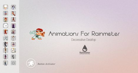 Animations For Rainmeter V2.0@2013 by amadis33