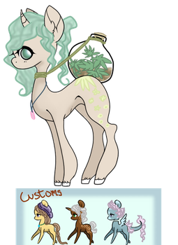 Things for Eventide by DoodleBug-Adoptable