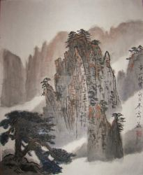 chinese painting scenery 2 by initialgx