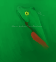 Experiment Speedpaint:TreeFrog by Jane2Audron