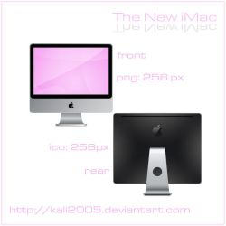 The New iMac by kali2005