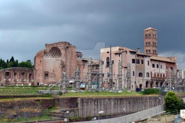 The archaeological area of the Palatine in Rome by Book-Art