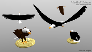 E for Eagle - Blender Month by Matou31