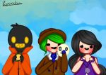 Meet Go To Fighters by Poponchis